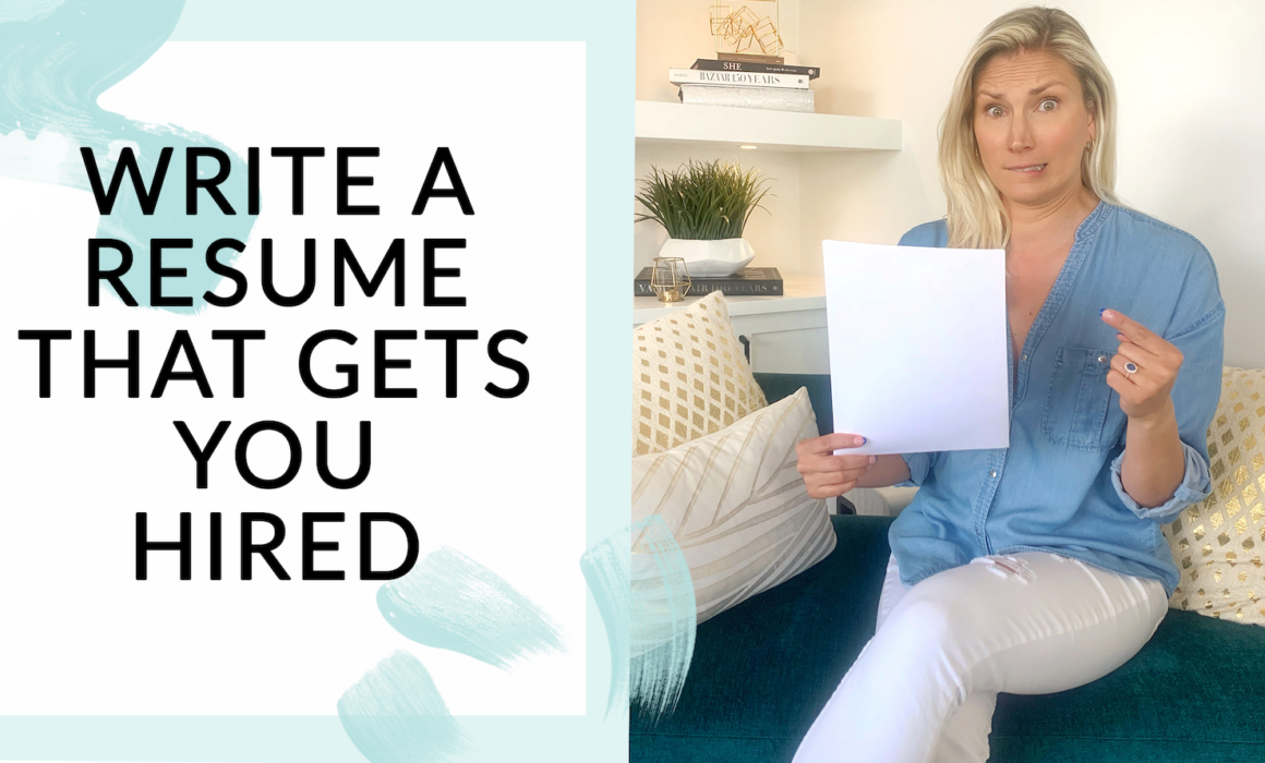 How to write a resume that gets you hired with Stefanie McAuley from Broad World Consulting